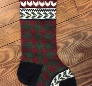 July Knit Along – Christmas Stocking